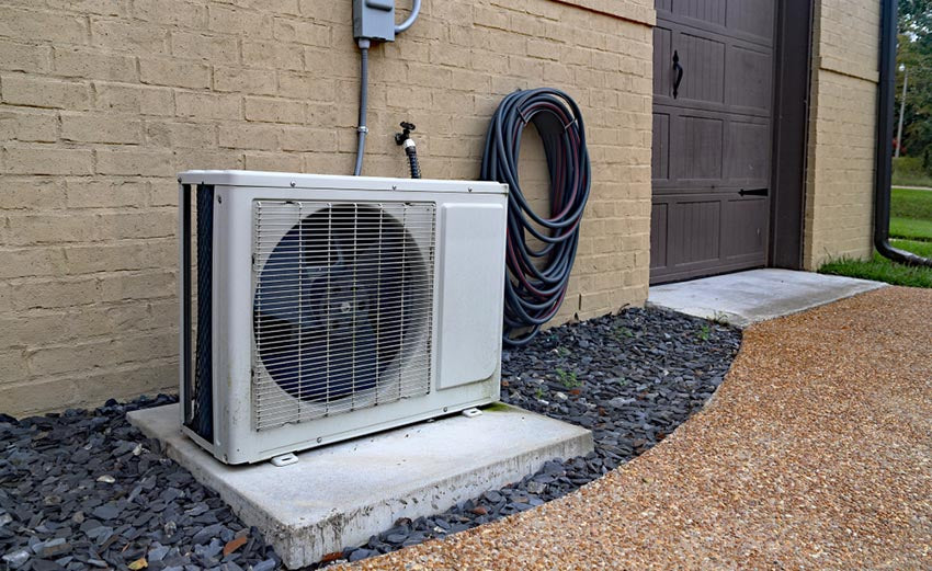 ductless hvac outside