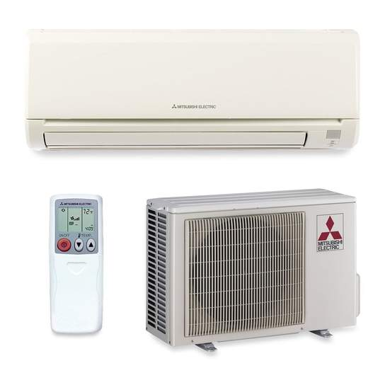 a mitsubishi ductless system