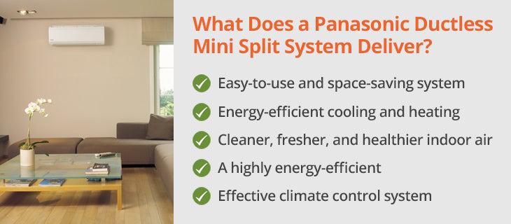 Panasonic Mini Split Ductless Air Conditioner Review — ComfortUp