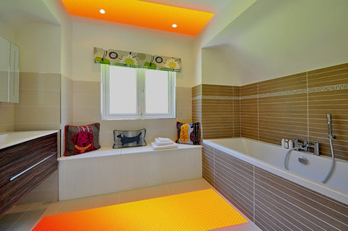 radiant heating in bathroom