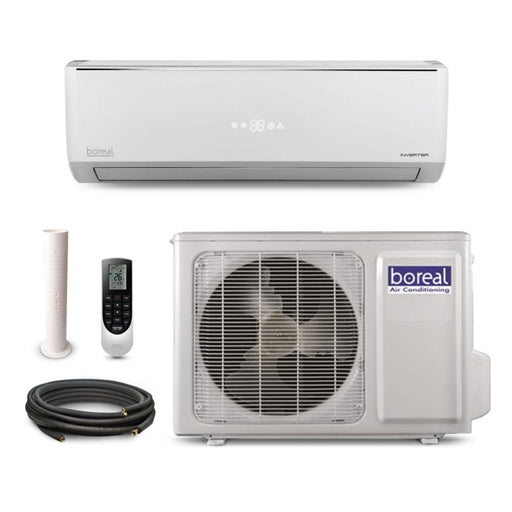 Boreal EQUINOX 18,000 BTU 20 SEER Ductless Mini Split System + 50' Line Set