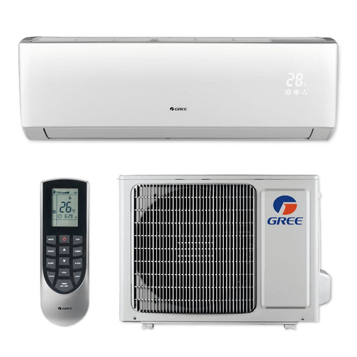 Gree 9,000 BTU 16 SEER LIVO+ Wall Mount Ductless Mini Split Air Conditioner Heat Pump 115V
