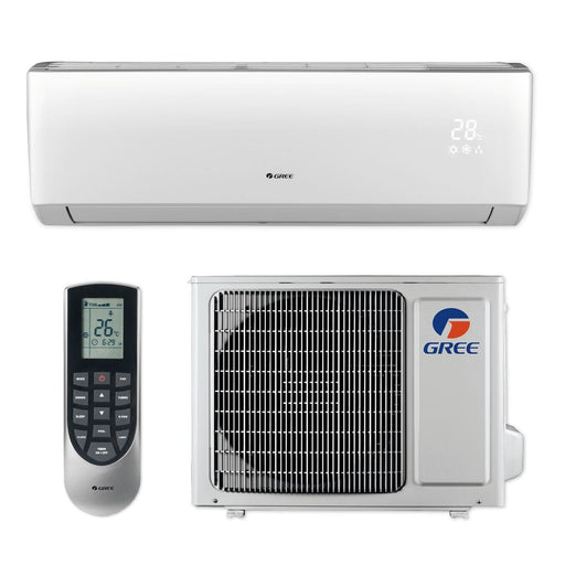 Gree 9,000 BTU 16 SEER LIVO+ Wall Mount Ductless Mini Split Air Conditioner Heat Pump 208/230V