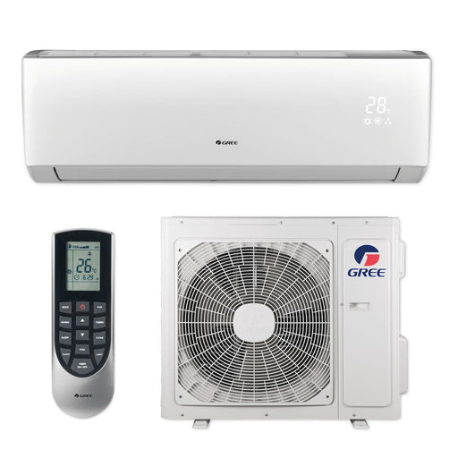 Gree 18,000 BTU 16 SEER LIVO+ Wall Mount Ductless Mini Split Air Conditioner Heat Pump 208/230V