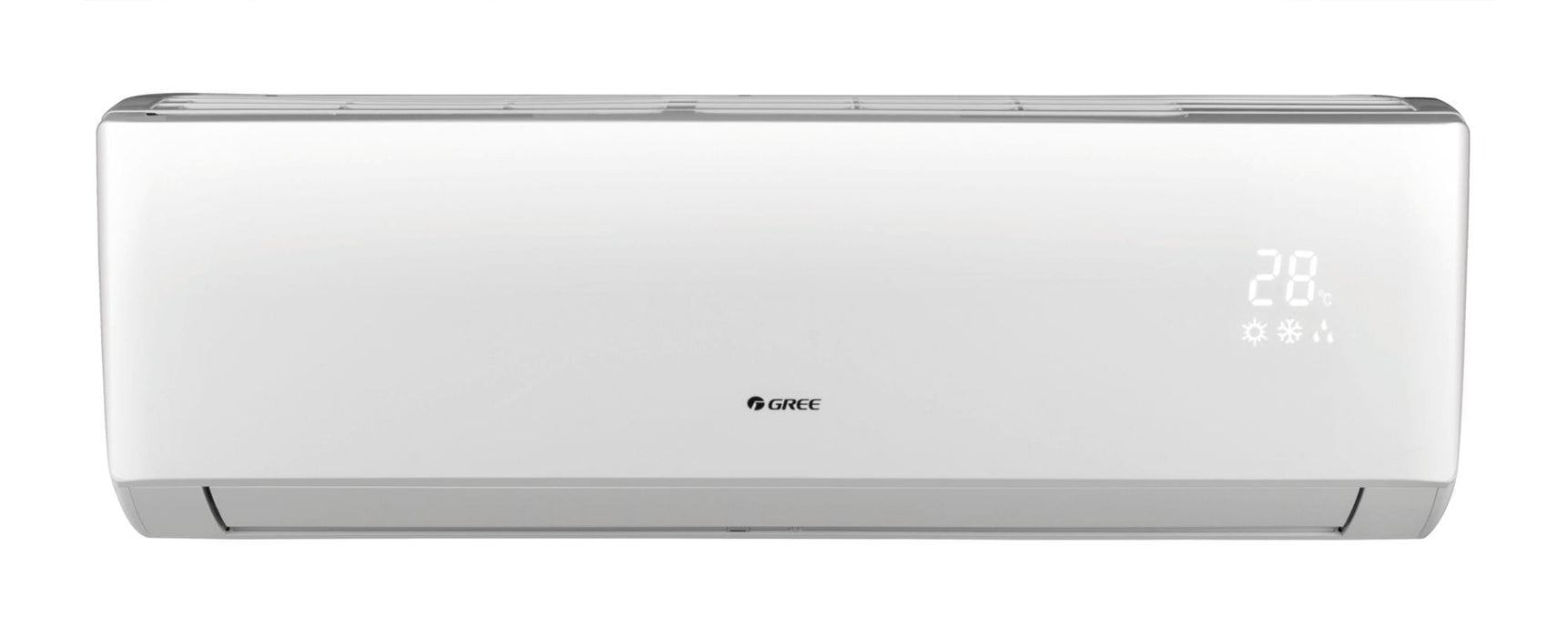 Gree 24,000 BTU 16 SEER LIVO+ Wall Mount Ductless Mini Split Indoor Unit 208-230V