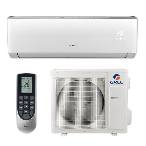 Gree 36,000 BTU 16 SEER LIVO+ Wall Mount Ductless Mini Split Air Conditioner Heat Pump 208/230V