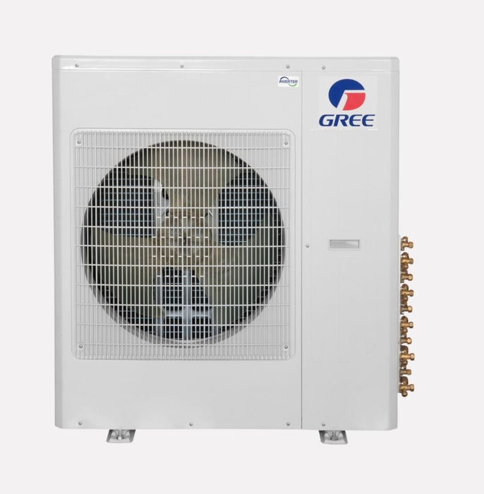 Gree 36,000 BTU Multi21+ Dual-Zone Floor/Ceiling Mini Split Air Conditioner Heat Pump 208/230V SEER 21 (18-24)