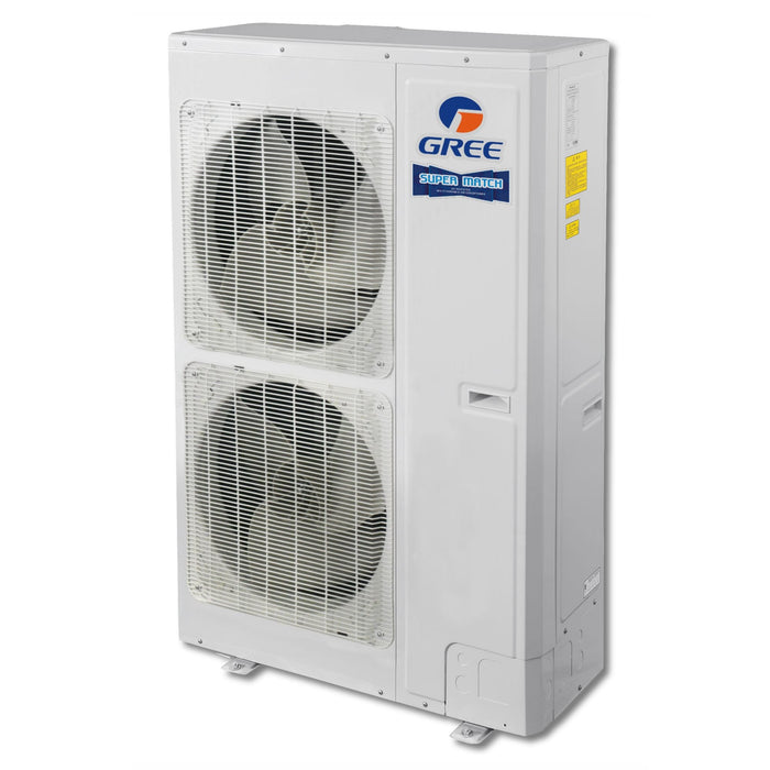 Gree MULTI48HP230V1AO - 48,000 BTU 16 SEER +Multi SUPER Ductless Mini Split Heat Pump Outdoor Unit 208-230V