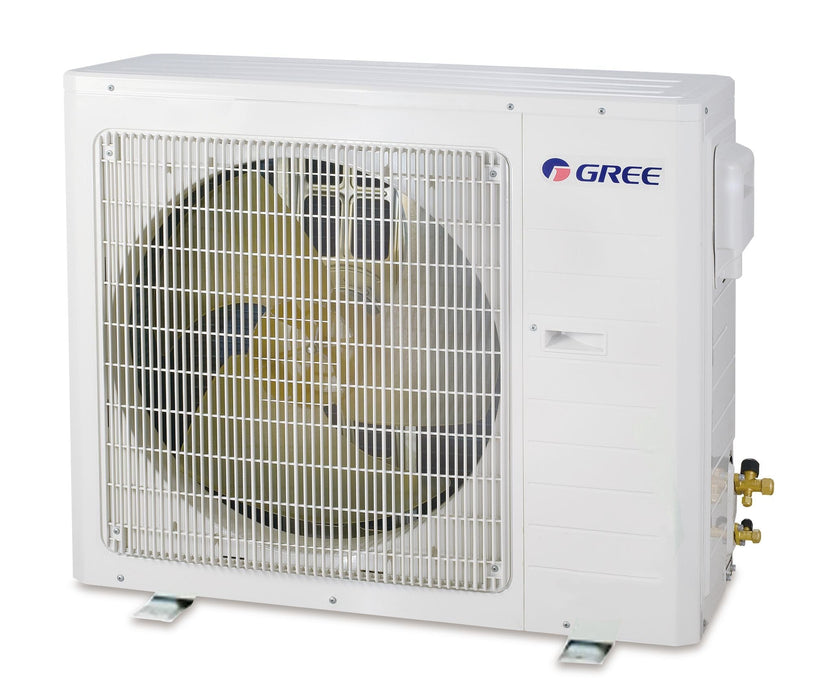 Gree 30,000 BTU 16 SEER Concealed Duct Ductless Mini Split Air Conditioner Heat Pump 208/230V