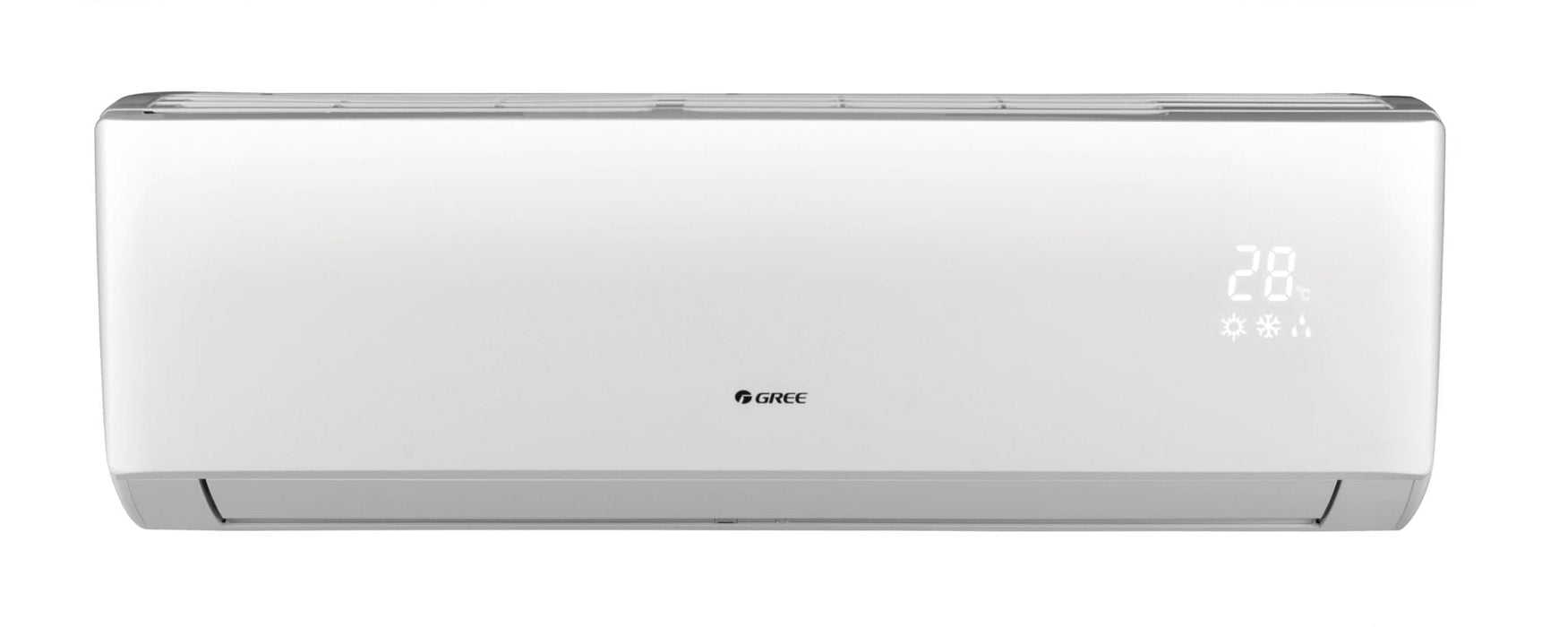 Gree 9,000 BTU 23 SEER VIREO+ Wall Mount Ductless Mini Split Indoor Unit 208-230V