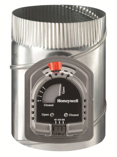 "Honeywell ARD8TZ/U- TrueZONE 8"" Round Automatic Supply Damper"