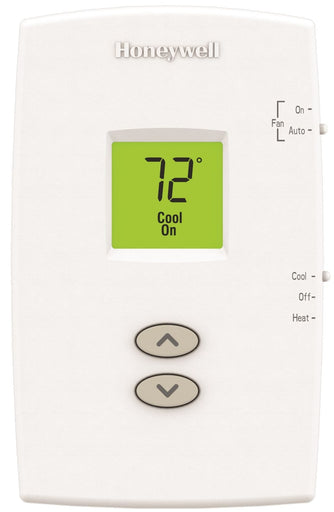 Honeywell TH1110DV1009/U - PRO 1000 Vertical Non-Programmable Thermostat 1 Heat/1 Cool