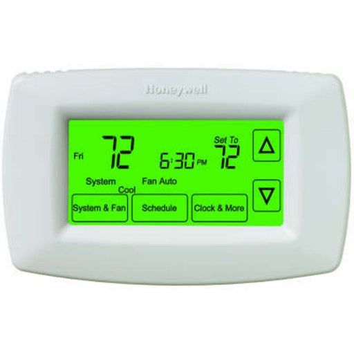 7-Day Touchscreen Programmable Thermostat with Automatic/Manual Changeover