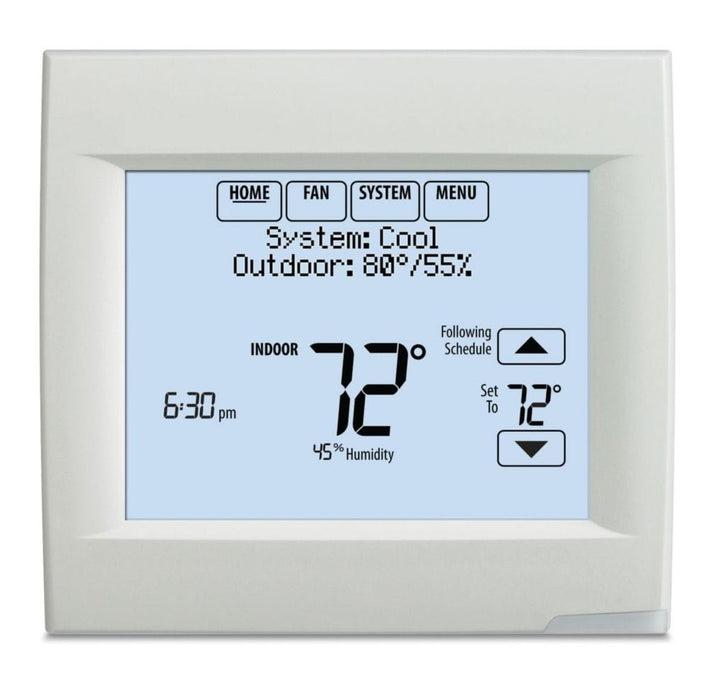 Honeywell TH8110R1008/U - VisionPRO® 8000 Thermostat with RedLINK™ Technology