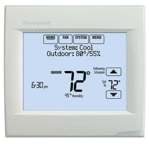 Honeywell TH8321R1001/U - VisionPRO® 8000 Thermostat with RedLINK™ Technology