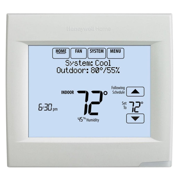 Honeywell TH8321WF1001/U - Wi-Fi VisionPRO® 8000 for Residential or Commercial Use, Stages Up to 3 Heat/2 Cool