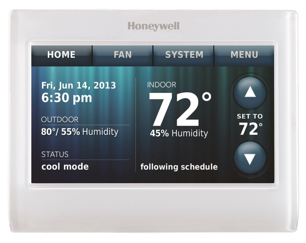 Honeywell TH8321WF1001//U Wi-Fi 8000 for Residential or Commercial Use Stages Up to Up to 3 Heat//2 Cool
