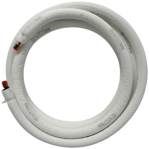 "15' EZ-Pull Mini Split Ready Connect Line Set: 1/4"" Liquid, 1/2"" Suction, 14-4 Connect Wire"