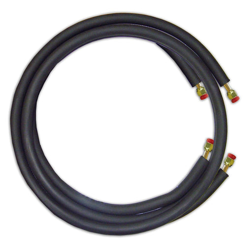 "JMF LS1412FF25W - 25' Mini Split Ready Connect Line Set: 1/4"" Liquid Line, 1/2"" Suction Line, 14-4 Connect Wire"