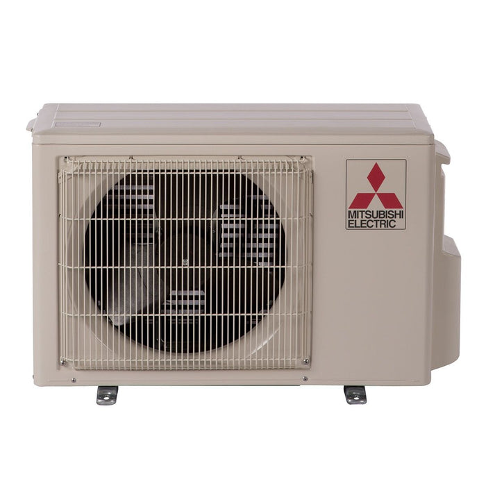 Mitsubishi 9,000 BTU 30.5 SEER Hyper Heat Ductless Mini Split Heat Pump Outdoor Unit 208-230V