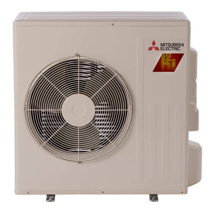 Mitsubishi 15,000 BTU 22 SEER Hyper Heat Ductless Mini Split Heat Pump Outdoor Unit 208-230V