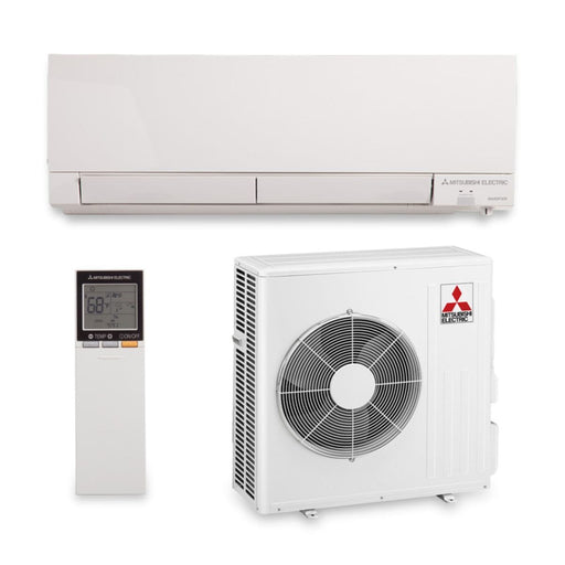 Mitsubishi 15,000 BTU 22 SEER Hyper Heat Wall Mount Ductless Mini Split Air Conditioner Heat Pump 208-230V