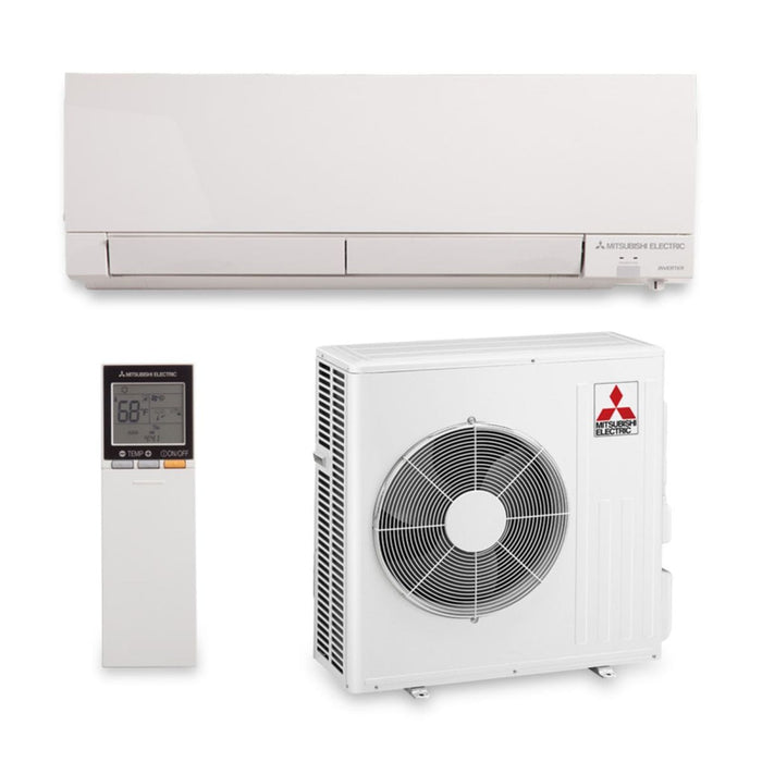 15,000 BTU 22 SEER Hyper Heat Wall Mount Ductless Mini Split Air Conditioner Heat Pump 208-230V