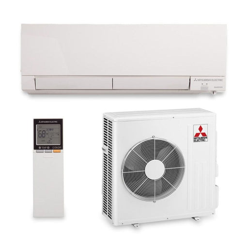 Mitsubishi 18,000 BTU 21 SEER Hyper Heat Wall Mount Ductless Mini Split Air Conditioner Heat Pump 208-230V