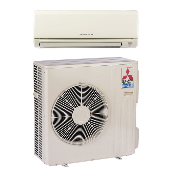 Mitsubishi 36,000 BTU 15.1 SEER MR SLIM Wall Mount Ductless Mini Split Air Conditioner ONLY 208-230V