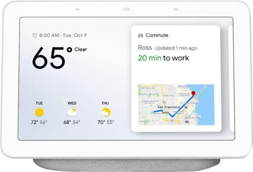 Nest - WNGOGA00516US - Google Assistant Home Hub - Chalk