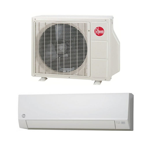 Rheem Classic Series 12,000 BTU Ductless Mini-Split Single Zone System SEER 16, 115V
