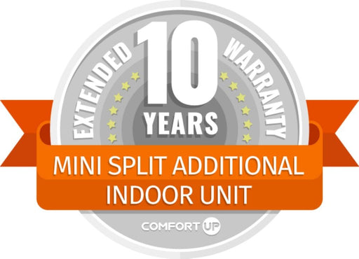 ComfortUp - Mini Split Additional Indoor Unit 10 Year Extended Warranty