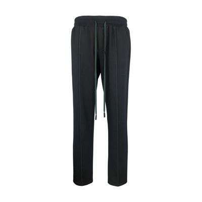 NEP GREEN STRIPED STRECH PANTS