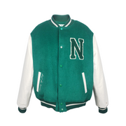 NEPERFEKTA FIRST THINGS FIRST VARSITY JACKET