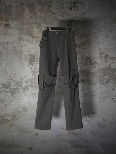 [Preorder] DARTED ON KNEES CARGO PANTS