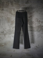[Preorder] BRAID DETAILS ELASTIC WAISTBAND STRETCH PANTS
