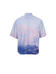 """M"" Oversize Grandpa Cloud Shirt"