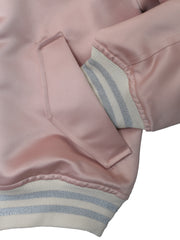 The Bomber Sports Jacket/Pink