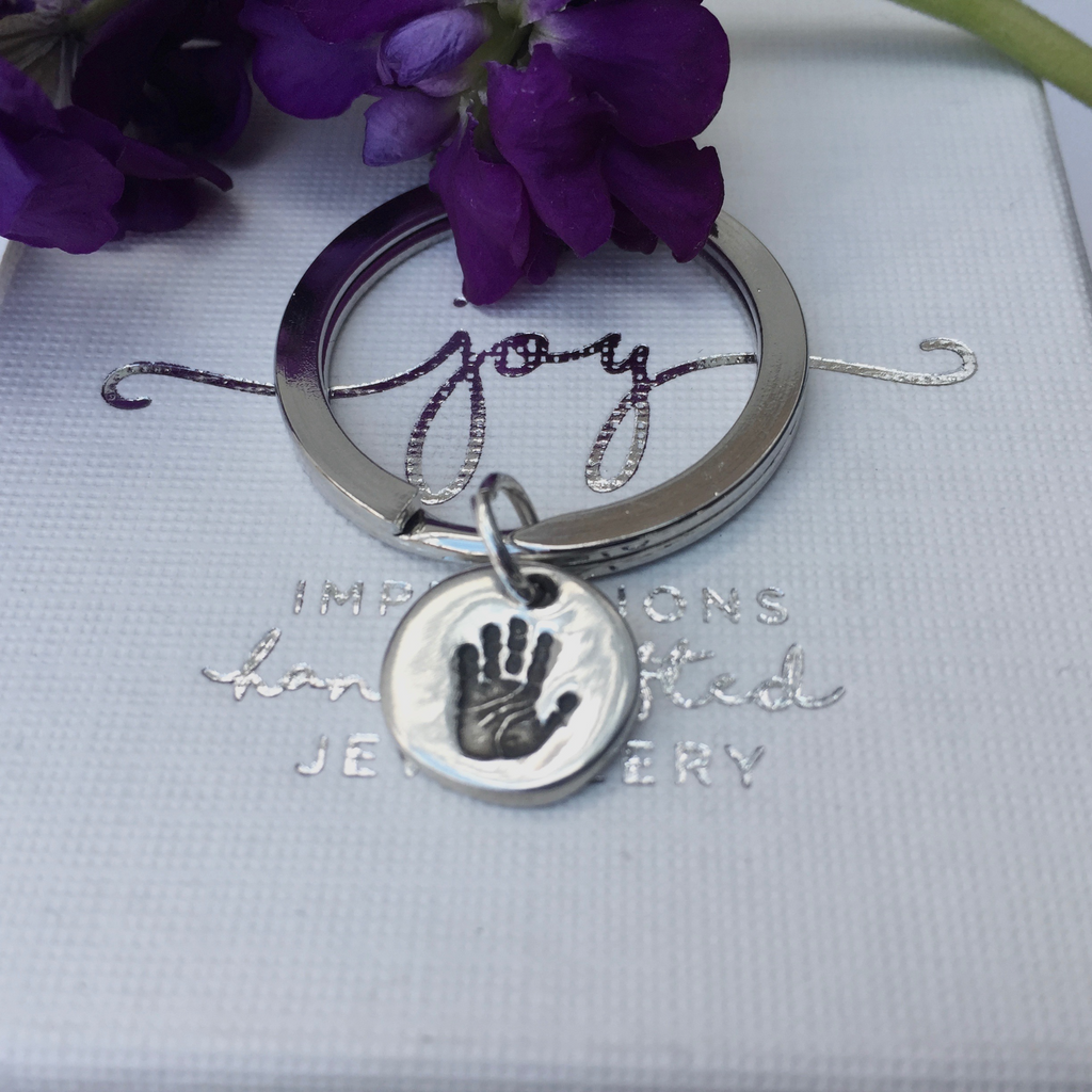 Mini Handprint Keyring - Joy Impressions