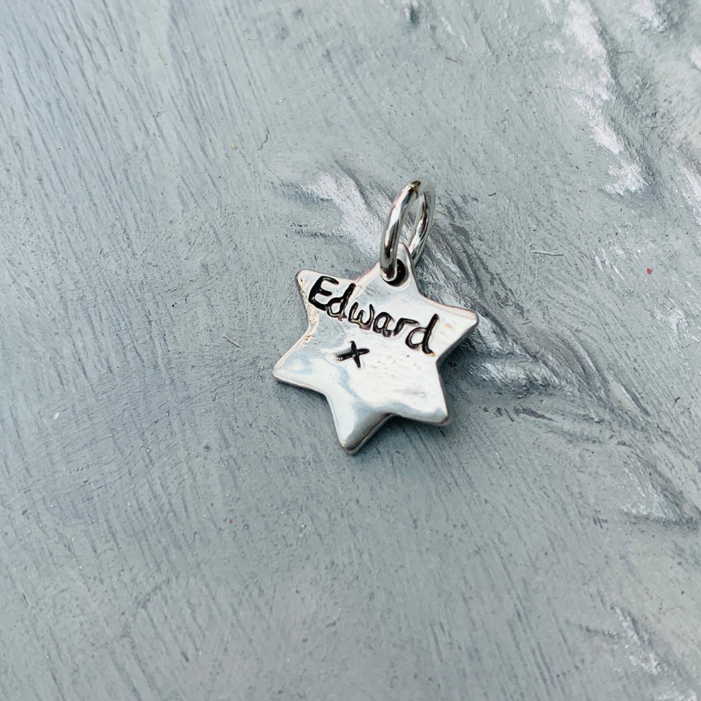 Mini Handprint or Footprint Star Charm - Joy Impressions