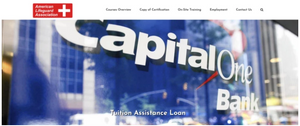 American Lifeguard Tuition Assistance through Capital One