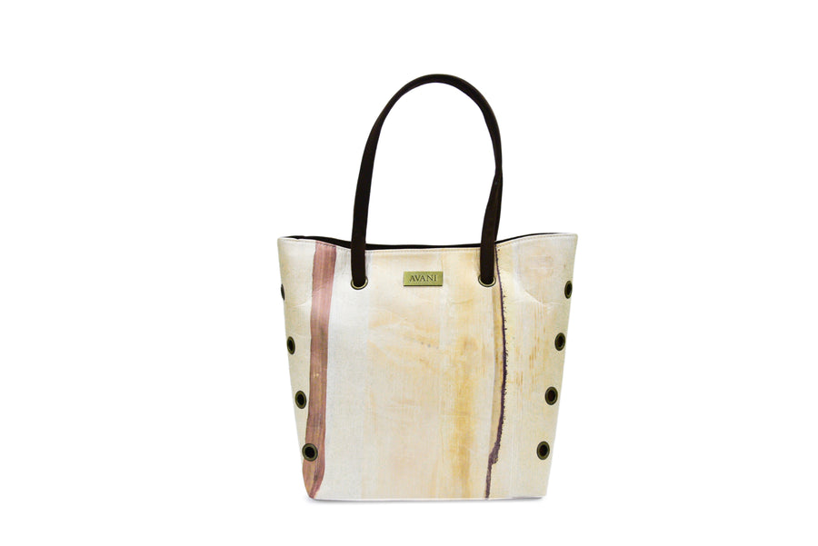 LUNA NATURAL BANANA HANDMADE LARGE TOTE