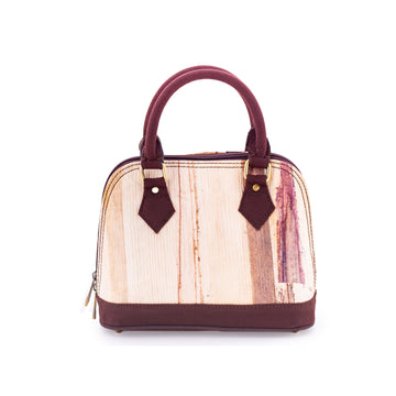 Ava Banana Natural Handmade Small Satchel