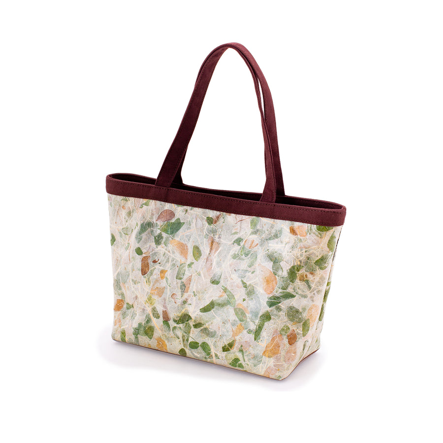 Emma Rain Tree Natural Handmade Wide Tote