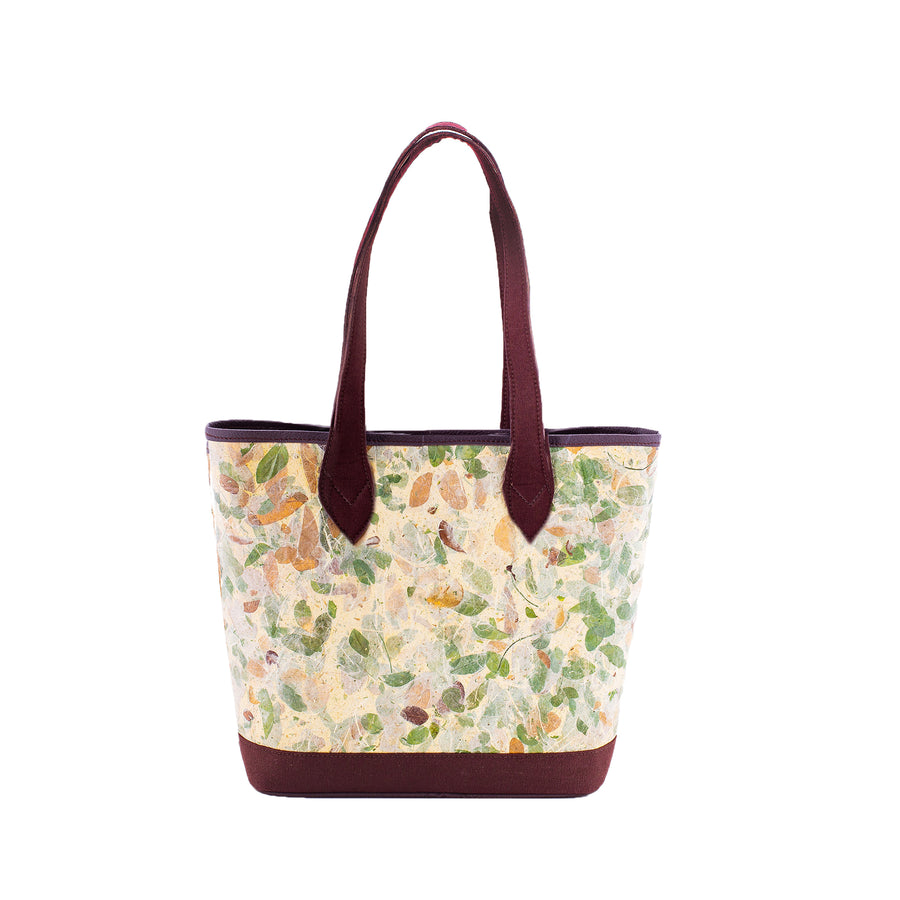 Emma Rain Tree Natural Handmade Large Tote