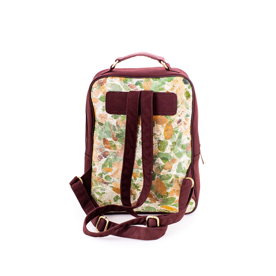 Sophie Rain Tree Natural Handmade Backpack