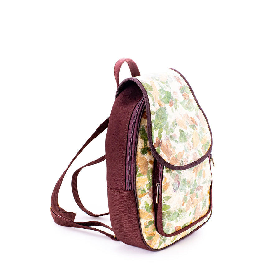 Isabella Rain Tree Natural Handmade Backpack
