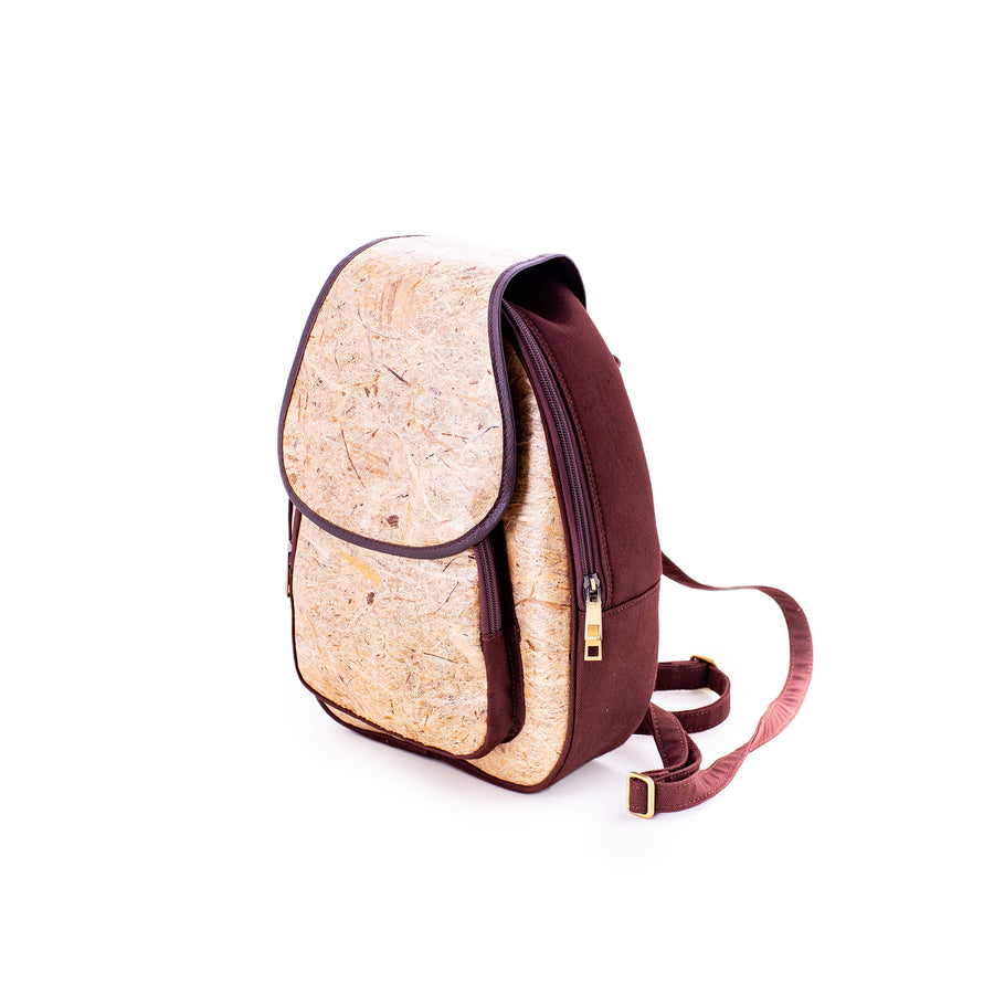 Isabella Abaca Fiber Natural Handmade Backpack