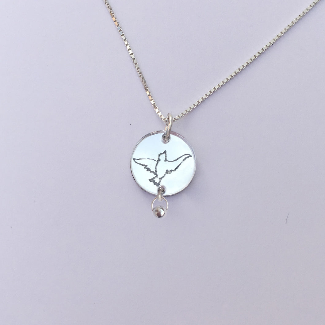 Birdy - 925 silver necklace