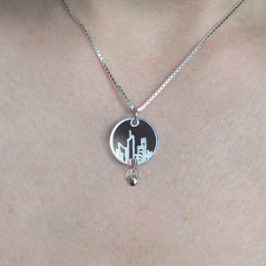 City Saviour -925 silver necklace